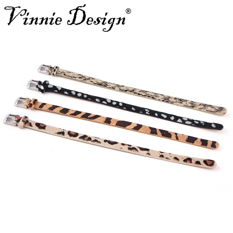 Vinnie diseño joyería de cuero genuino Keeper Wrap pulsera para ...