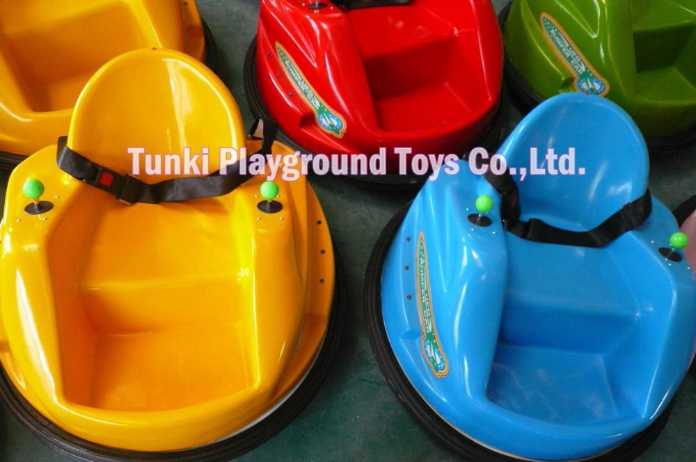 Children Battery Bumper Car With LED And MP3