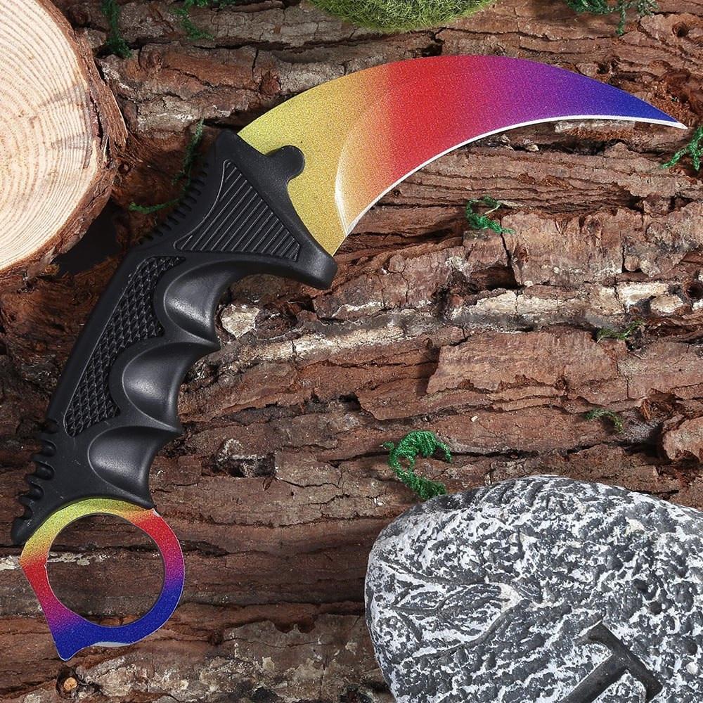 jeslon karambit knife cs go never fade counter strike fighting survival tactical knife claw camping knives for cs gamer - HTB1htCmKpXXXXcJXVXXq6xXFXXXh - Jeslon Karambit Knife CS GO Never Fade Counter Strike Fighting Survival Tactical Knife Claw Camping Knives for CS Gamer