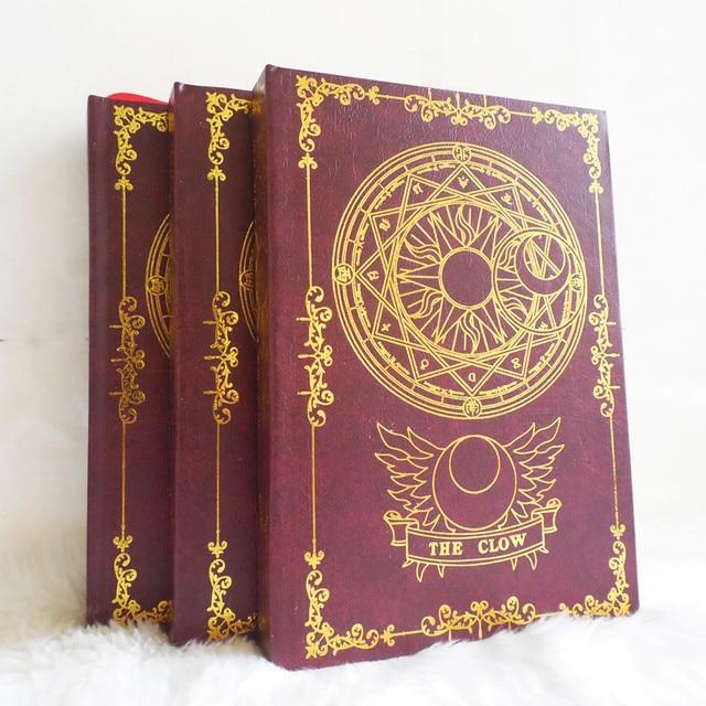 2 цвета, аниме карта Captor Sakura, экшн фигурка, магический массив, с принтом, волшебный блокнот, дневник, книга, канцелярский журнал, записная книжка