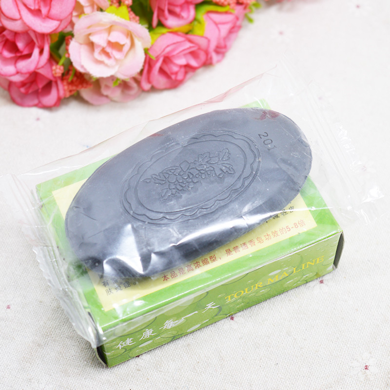 Traditional Chinese Medicine Soap Whitening Oil-control Remove Acne Blackhead Handmade Essential Oil Soap60g Skin Care Hair Care