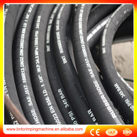 2017 New Coming Good Quality Steel Wire Braided Hydraulic Hose For Excavator Machinery 2SN SAE100R2AT