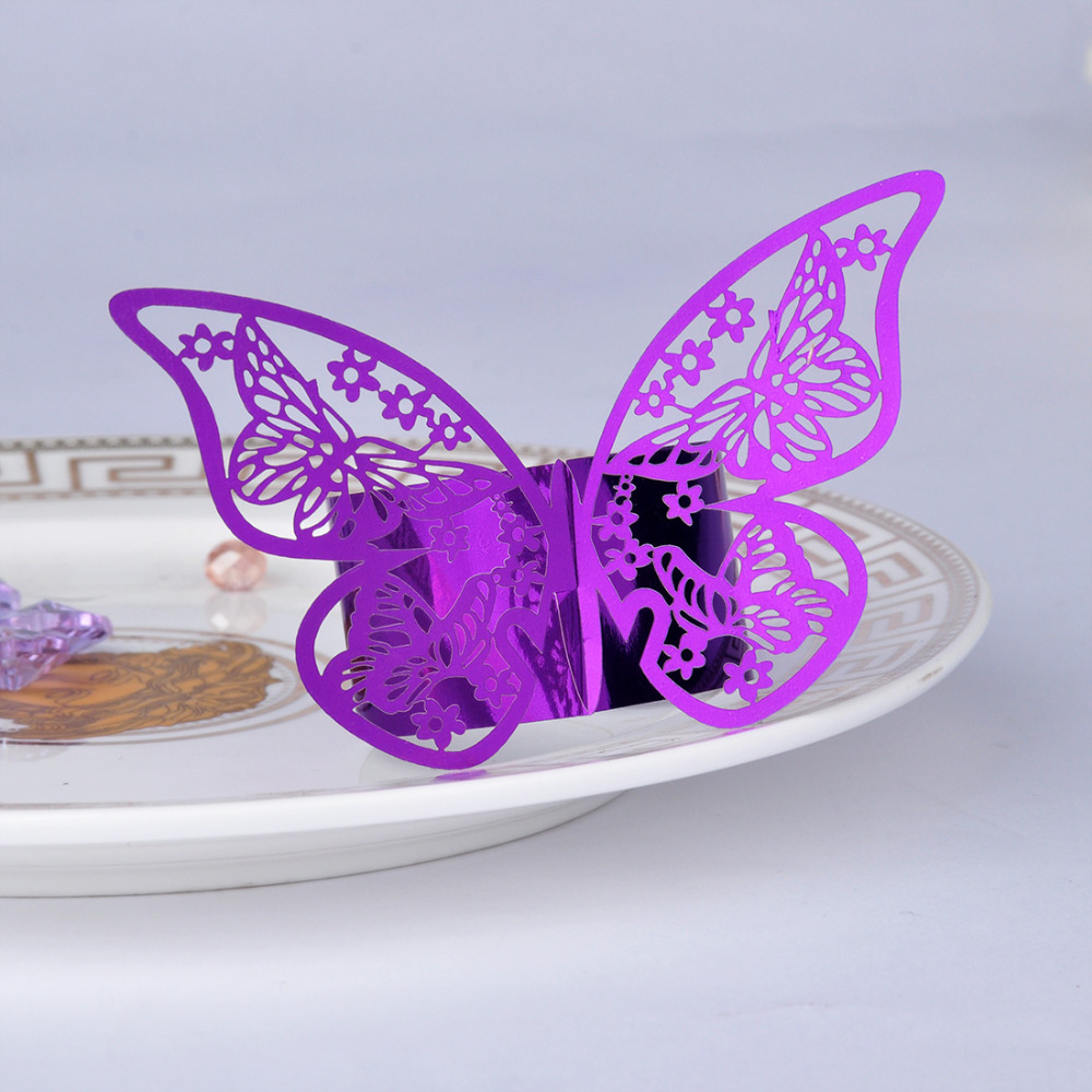 Online kopen wholesale paars servetringen uit china paars ...