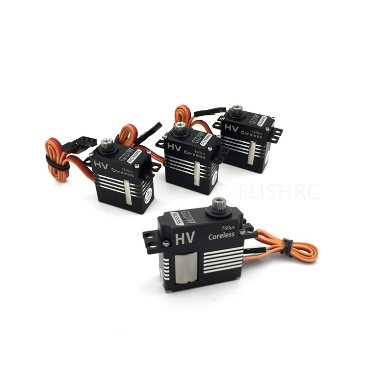 GDW 3Pieces DS290MG 1Piece DS595MG HV Medium Digital Metal Servo Helicopter Parts for 450 450L 380