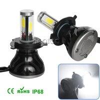 NEW 2x LED Car Auto Headlight H4 H13 H7 H8 9 11 9005 9006 H1 H3