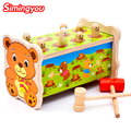 11 11 2017 Simingyou Noise Maker Montessori Wooden Toys For Children Wood  Baby Toys Musical Instrument Wood Sound Knock Ball