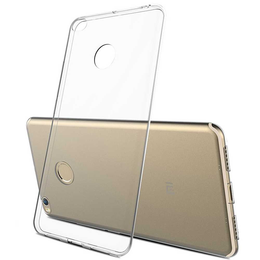 Miękkie przezroczyste etui z TPU dla Xiao mi mi mi x 3 4 4C 4S 5 5S Plus uwaga 6 Pro uwaga 2 3 max 2 przezroczyste silikonowe tylna pokrywa obudowa na telefon