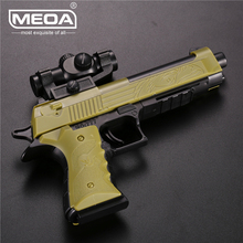 цена на 16*12.5cm Outdoor Shooter Playing Toy Guns for Boys Building Blocks Toy Gun Beretta DIY Assembly Pistol Rifle Can Fire Bullets
