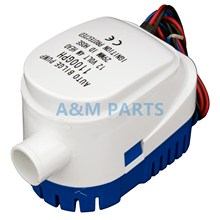 12V 1100GPH Marine Boat Automatic Bilge Pump RV Auto Submersible Water Pump