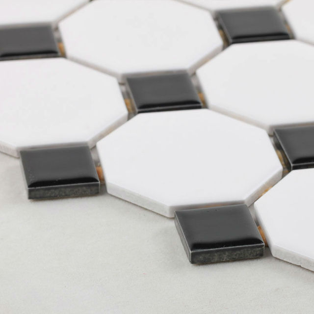 aliexpress : glasiertem porzellan mosaik fliesen schwarz und, Hause ideen
