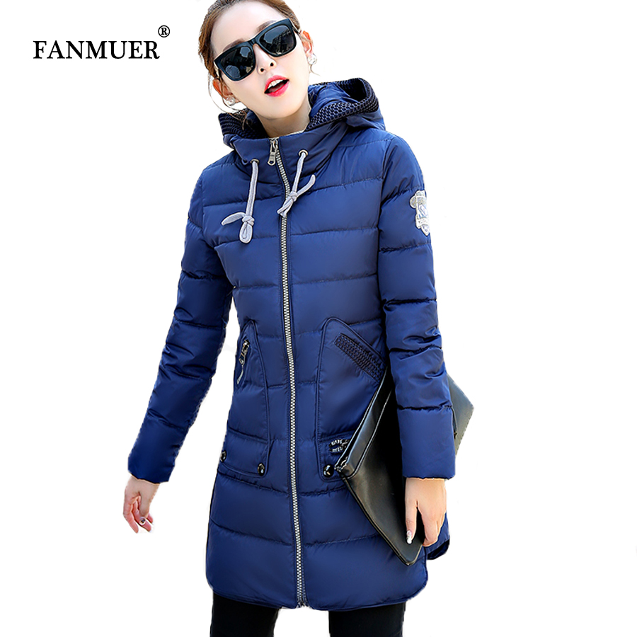 2017 New winter jacket winter warm parka with hooded Cotton-padded Jacket Long Outwear coat plus size 5XL coats women 2017 new fashion winter jacket men long thick warm cotton padded jackets coat parka overcoat casual outwear jacket plus size 6xl