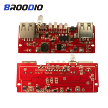 USB Power Bank Charger Module Charging Circuit Board Step Up Boost Power Supply Module Dual USB Output With Charge indicator цены