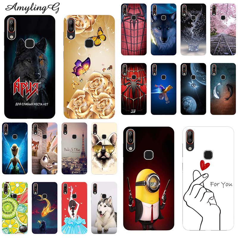 Phone-Case Patterned-Cover 1-Plus Wolf Vsmart-Joy Cute For BQ Pq6002/active PQ4002 Print