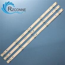 530 مللي متر LED شريط إضاءة خلفي 5 مصباح ل RF AD280E32 0501S 01 TF LED28S9T2 CX275DLEDM