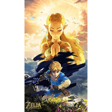 diamond painting Cartoon The Legend Of Zelda Breath Wild Wall Art Picture Print Painting for Living Room RS1835