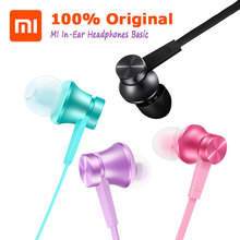 Xiaomi Original Mi Piston Basic Edition Earphone Newest and Most cost-effective For iPhone Samsung Mi 3 4 Redmi Phone Earpods