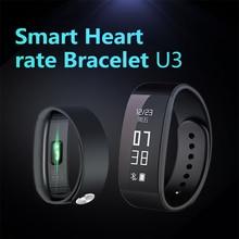 Unik 3 U3 Смарт Браслет Bluetooth 4.0 Водонепроницаемый Сенсорный Экран Фитнес-Трекер Здоровья Браслет Сна Монитора Смарт-группы