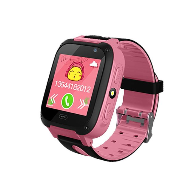 V6 Children Baby Smart Watch Anti Lost Monitor SOS Waterproof Baby Phone Watch F