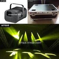 4 шт./случая высокого лазерный луч света 2r лазерный Снайпер луч dj сканеры dj свет луч dmx гобо проектор Сканер Свет flycase