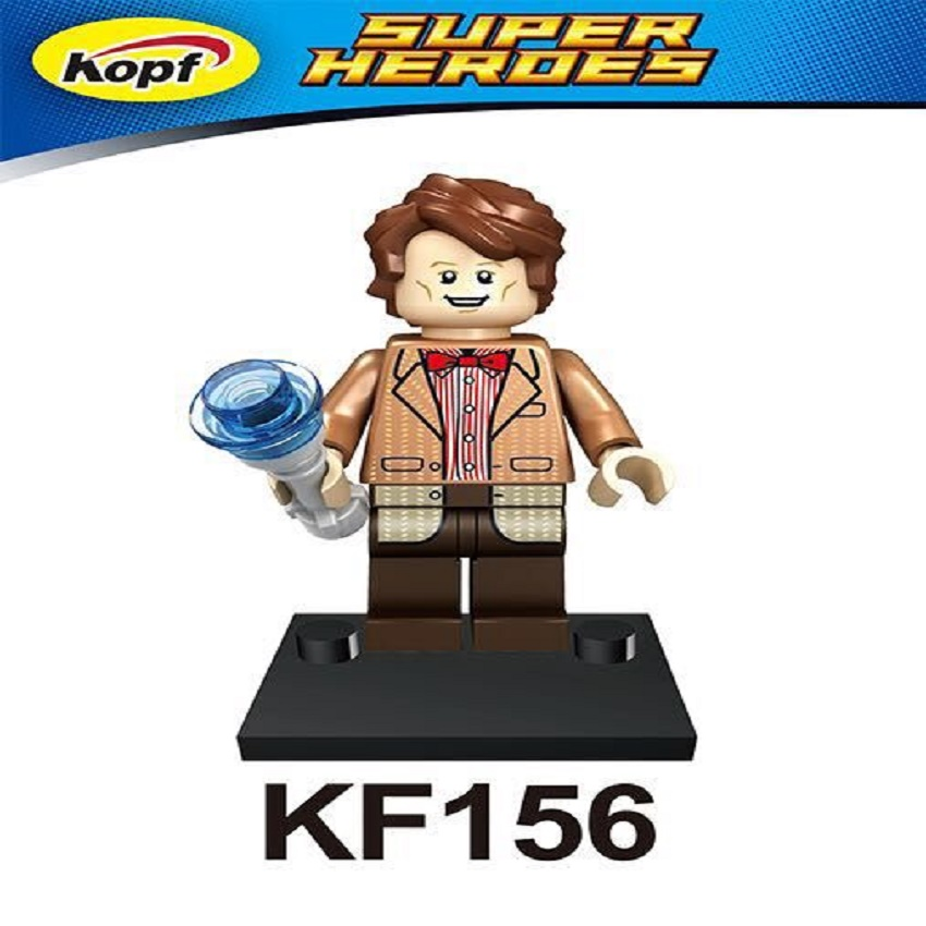 20Pcs Super Heroes Dr.Who Figures Matt Smith Clara Oswald River Song Bricks Building Blocks Toys For Children kids KF156 image