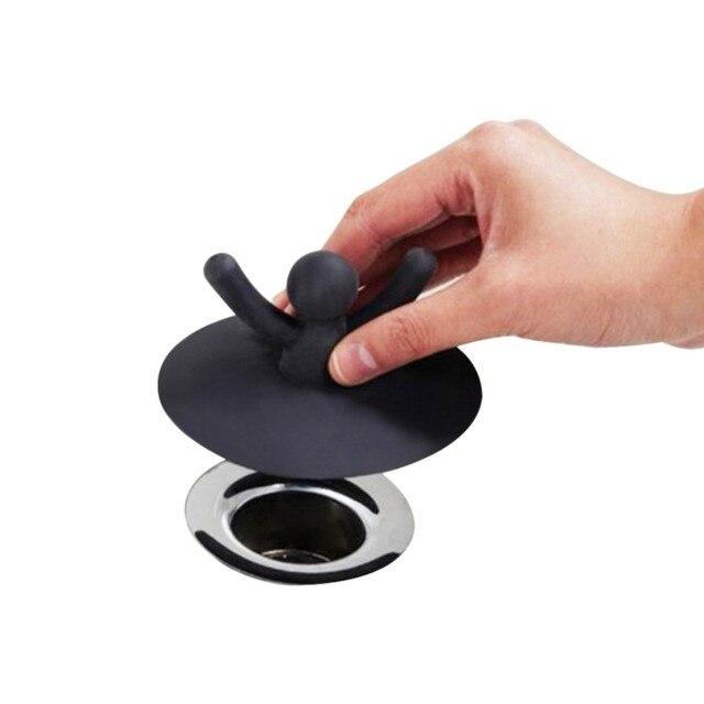 1 Pz Potabile Lavello Tappo Tappo di Scarico Scarico A Pavimento Da Bagno Tappo
