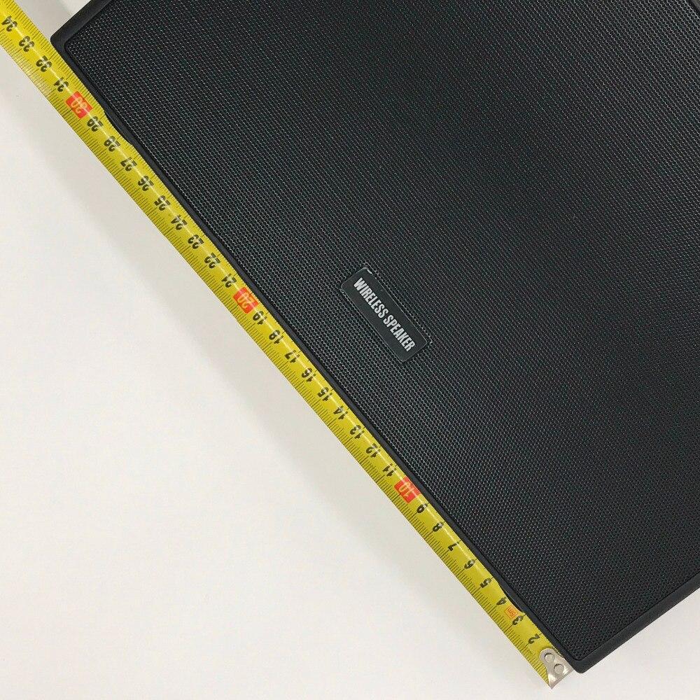 Klassische Drahtlose Lautsprecher Bluetooth Lautsprecher Super Bass LED Zeit 15W X 2 Surround Sound Hohe Qualität Mit Aux - 5