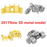 Chinese Metal Earth ICONX 3D Metal Model Kits 9 Inch Musical Instruments HARP 1 Sheets Military