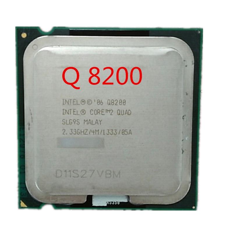 Intel Core 2 Quad Q8200 2.33Ghz/ 4M Socket 775 CPU Processor