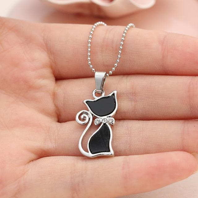 Majestic Cat Pendants Necklaces