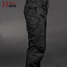 2019 Military Tactical Pants Waterproof Cargo Pants