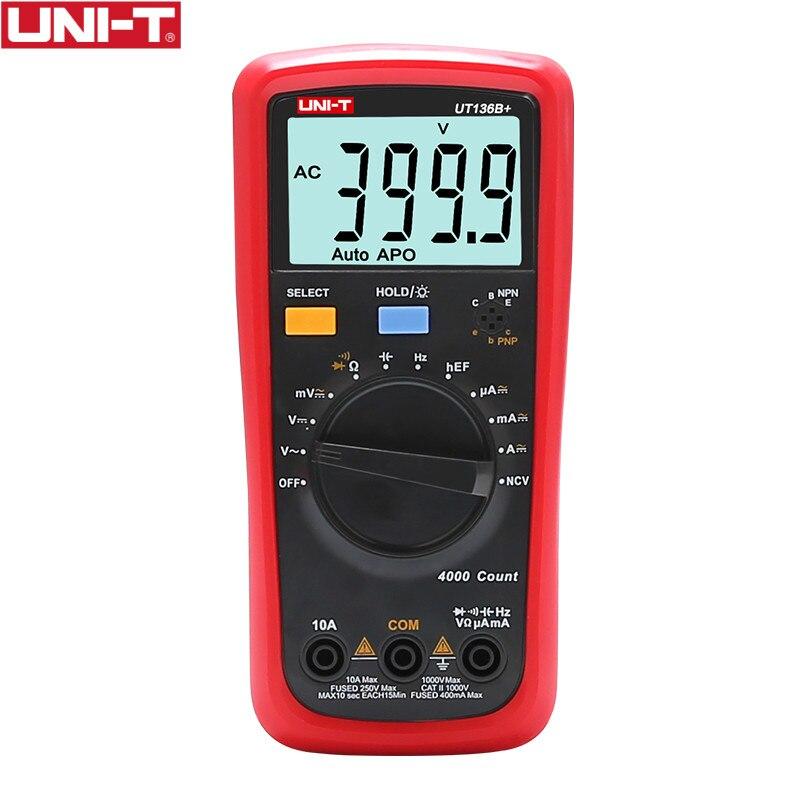 UNI-T UT136B + Low power verbrauch Großen LCD dual display multimeter
