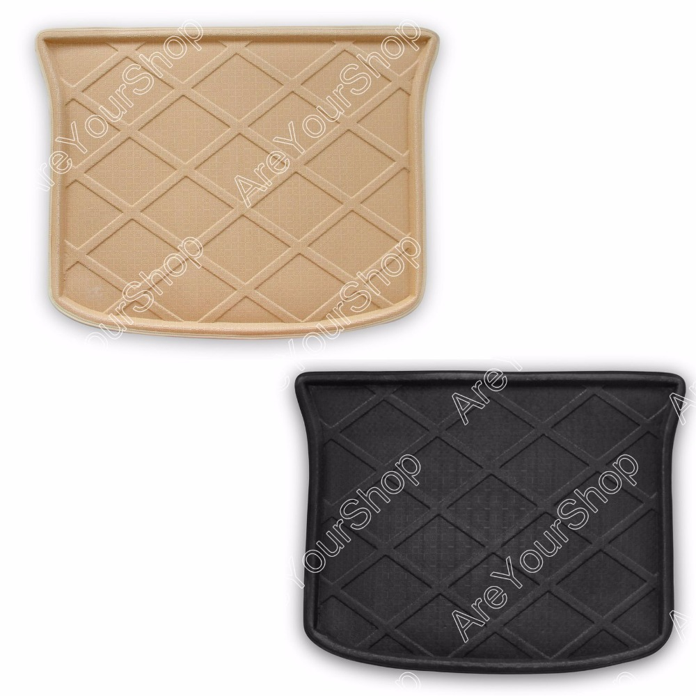 Car Auto Cargo Mat Boot liner Tray Rear Trunk Sticker Dog Pet Covers For Ford Edge 2013-2014 High Quality Car-Covers Stickers car rear trunk security shield cargo cover for volkswagen vw tiguan 2016 2017 2018 high qualit black beige auto accessories