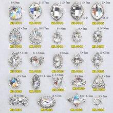 100 шт стразы nageldesign из кристаллического сплава для ногтей