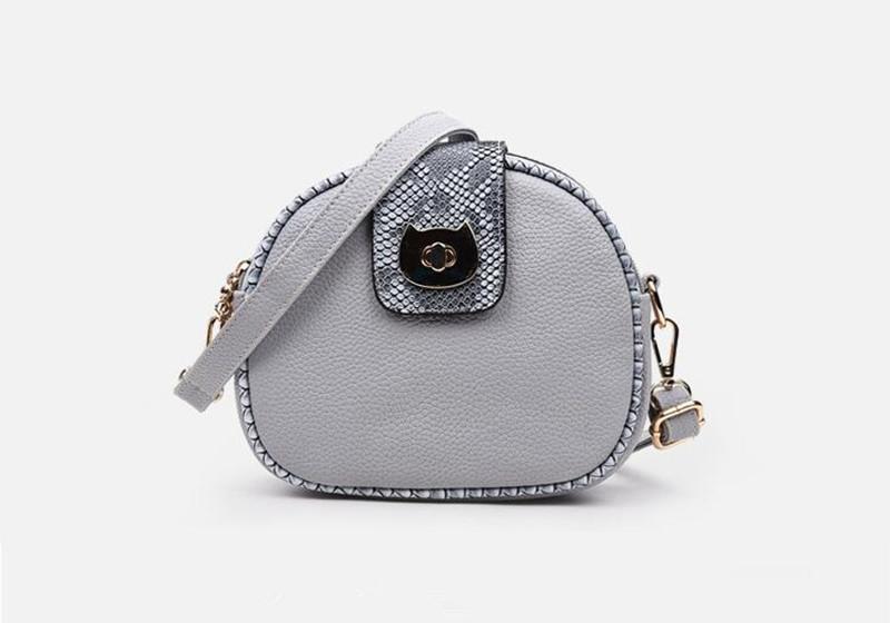 6 grey women handbag