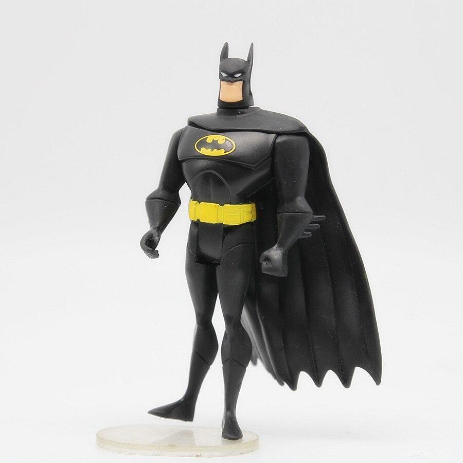 JUSTICE LEAGUE UNLIMITED DC Universe Batman Blue Gray  Super Hero Action Figures Toys