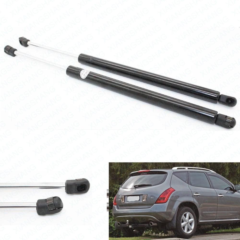 2 pcs auto tailgate boot struts gas struts shock peredam lift mendukung untuk nissan murano z50 2003 2005 2006 2007 belakang kir