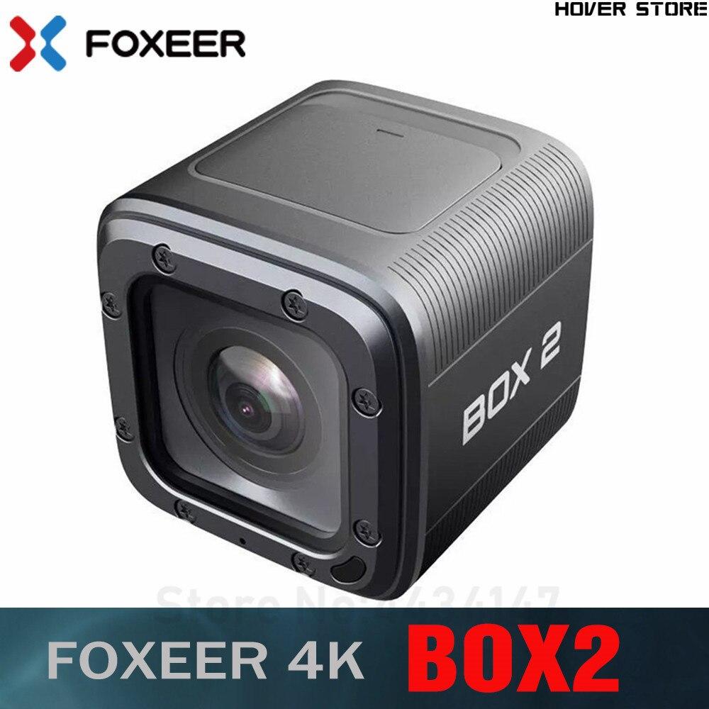 Foxeer 상자 2 4 K HD 액션 FPV 카메라 SuperVison HD 155 학위 ND 필터 지원 APP 마이크로 HDMI 빠른 유형 c USB FPV-에서부품 & 액세서리부터 완구 & 취미 의  그룹 1