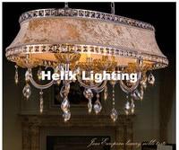 Modern L900mm W500mm Luxury European Top K9 Clear Crystal Chandelier Light Hotel Hall Living Room Dining Room AC 110 240V Lights