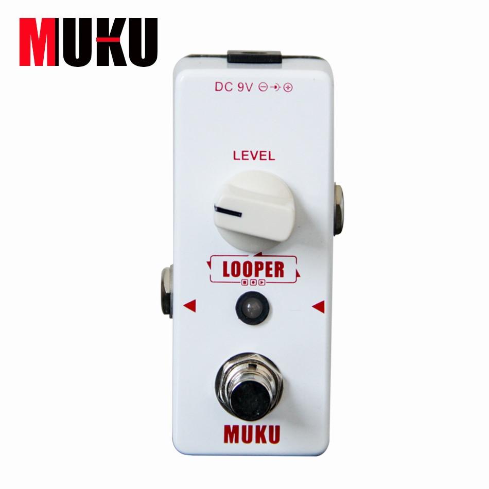 MUKU Micro Looper BT 12 Loop Recording Pedal Guitar Effect Pedal Guitar