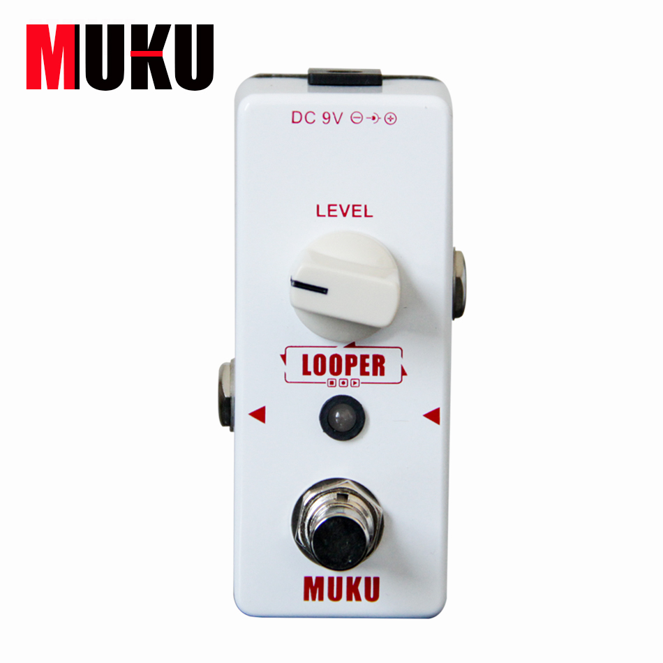 MUKU Micro Looper BT-12 Loop Recording Pedal Guitar effect pedal Guitar
