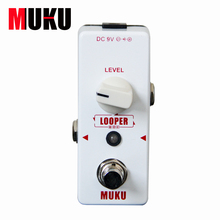 MUKU Micro Looper BT-12 Loop Recording Pedal  Guitar effect pedal Guitar hand made loop electric guitar effect pedal looper true bypass 3 looper switcher guitar pedal hr 1