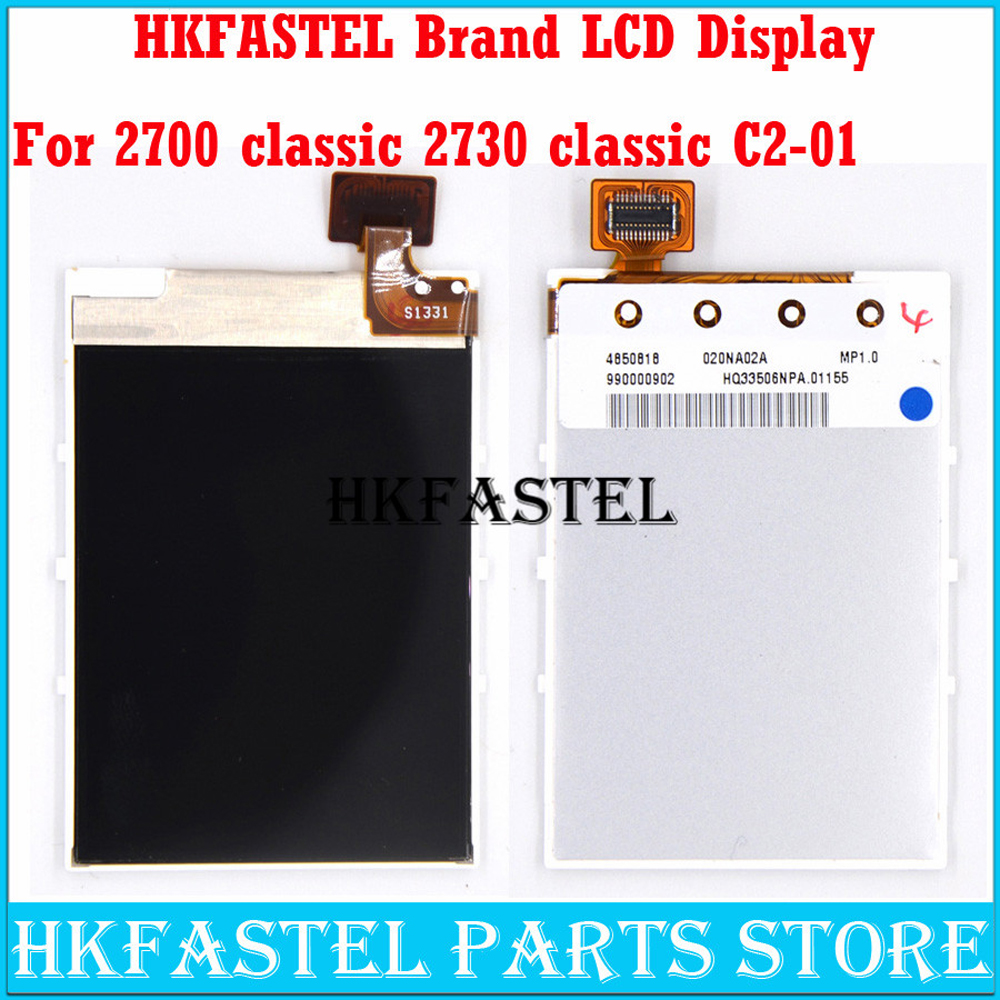 HKFASTEL LCD For <font><b>Nokia</b></font> 5000 C2-01 2700 2700c 2730c <font><b>2730</b></font> classic Mobile Phone Original LCD Screen Digitizer Display image