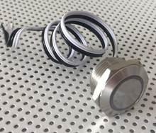 ELEWIND 19mm Super corto longitud cuerpo cableado lleva interruptor de empuje (PM19W-10E/Y/R/12 V/S)
