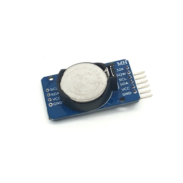 ShenzhenMaker DS3231 AT24C32 IIC High Precision RTC Module Clock Timer Memory Module for Arduino(With Battery)