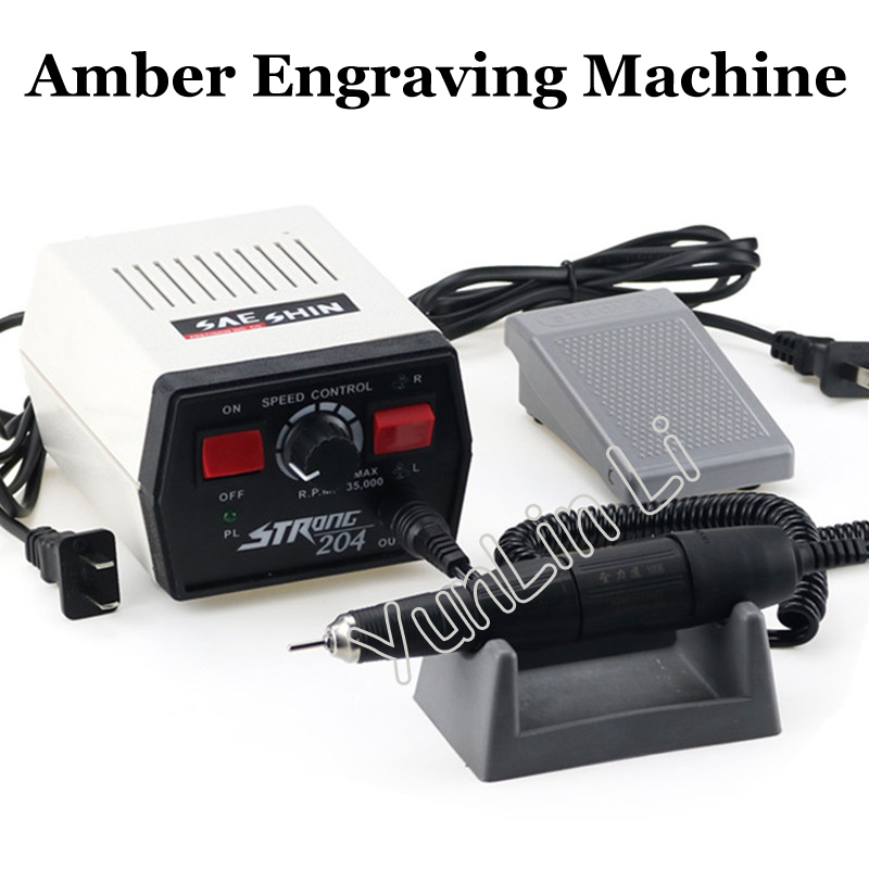 Teeth Grinding Machine 204+102L Jewelry Tools Milling Wood Jade Carving Machine Jewelry Polishing and Engraving цена