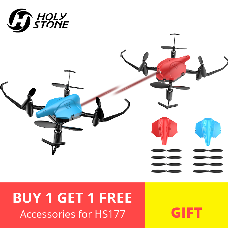 EU USA Stock Holy Stone HS177 Dron Battle RC Helicopter RTF Quadcopter Altitude Hold 3D Flip Headless Easy Fly for Beginner 2PcsEU USA Stock Holy Stone HS177 Dron Battle RC Helicopter RTF Quadcopter Altitude Hold 3D Flip Headless Easy Fly for Beginner 2Pcs