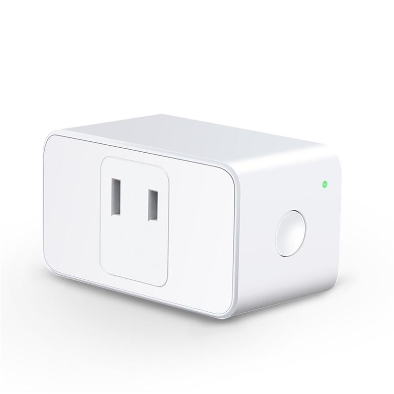 LonSonHo wifi smart plug JP Japan power socket outlet mini 15A 100-250V smart home modules compatiable with Alexa google home