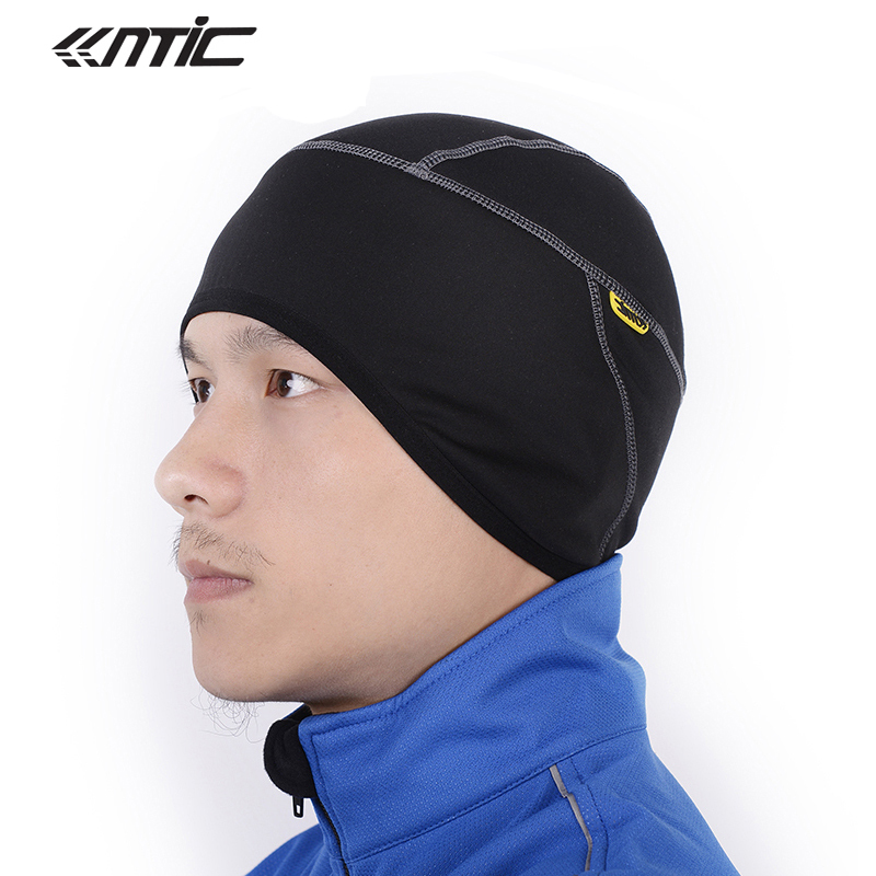 SANTIC Original Winter Cycling Cap Outdoor Sports Fleece Caps MTB Mountain Bike Windproof Warmer Hat Face Mask Free Size Black outdoor sports cycling cotton face mask black