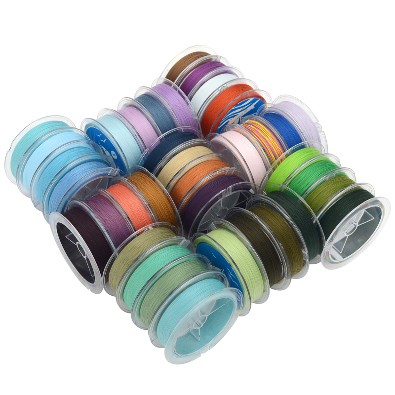 0 3mm cotton tread macrame cord tassel making material Jewelry making cord No 244 266 Colour in Jewelry Findings Components from Jewelry Accessories