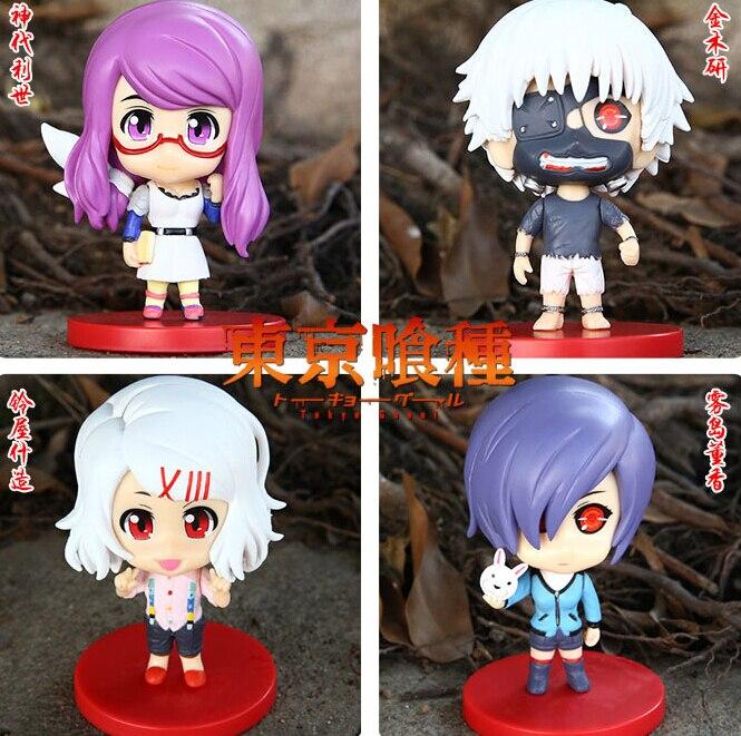 Токио вурдалак 8 см Kaneki Кен тоука киришима Rei Ризе Фигурки ПВХ Brinquedos Коллекция Цифры Игрушки для подарок на Новый год